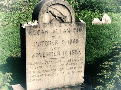 Edgar Allen Poe Grave in Baltimore