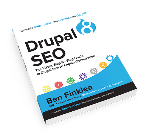 Drupal 8 SEO Book Cover