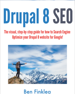 Drupal 8 SEO Book by Ben Finklea | Volacci Digital Marketing