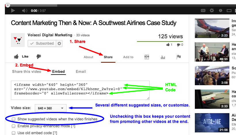 How to Embed a YouTube Video on a Drupal Blog Post