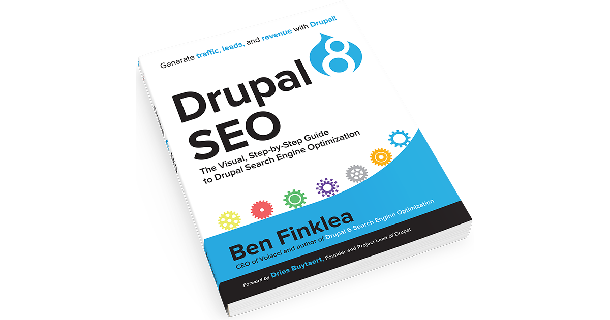 Drupal 8 SEO Book