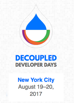 Drupal Decoupled Developer Days Logo