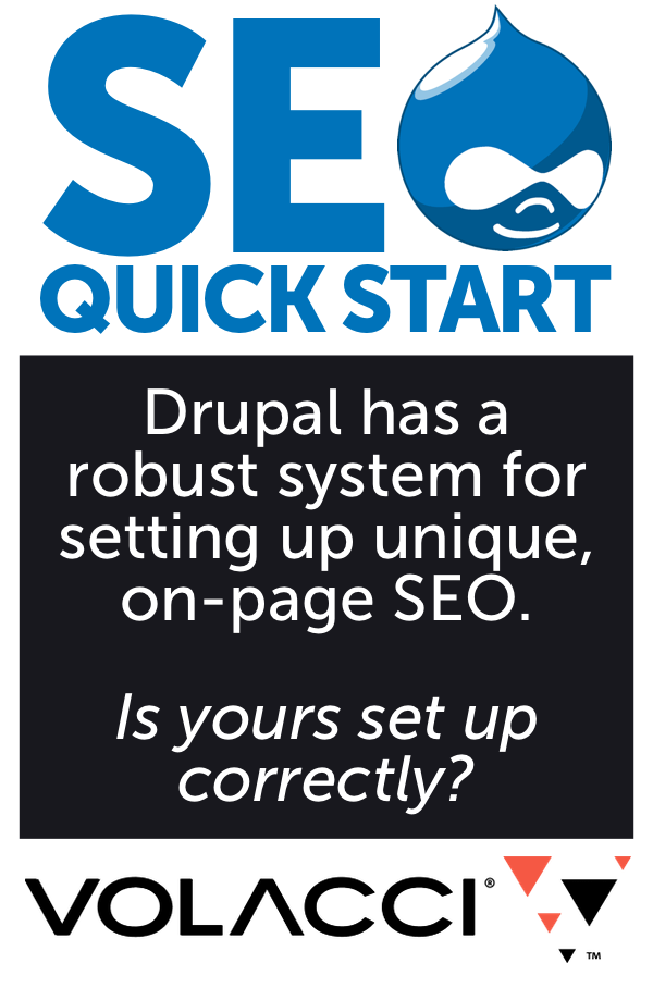 is your drupal SEO properly set up?