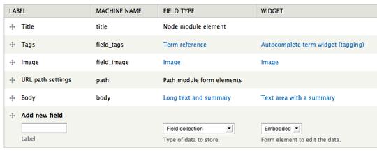 node fields form