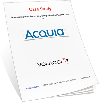 Volacci Whitepaper Maximizing Web Presence for Product Launch
