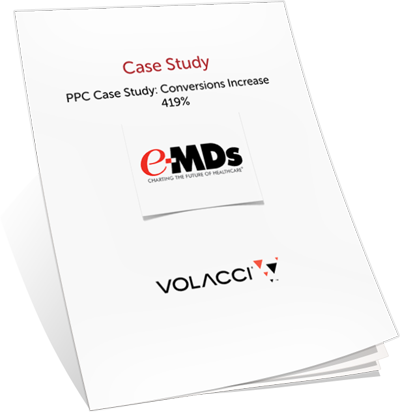 Volacci PPC Case Study for e-MDs