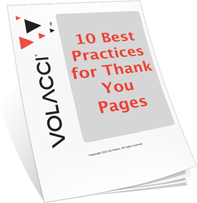 Volacci Whitepaper 10 Best Practices for Thank You Pages